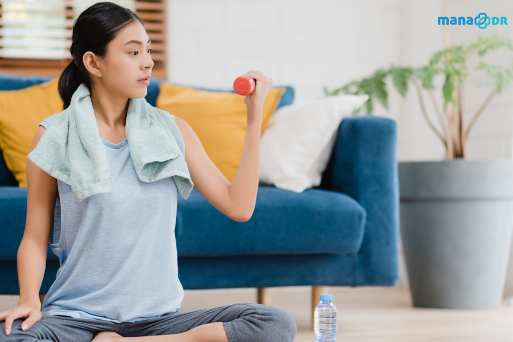 Exercise helps to lower blood sugar levels