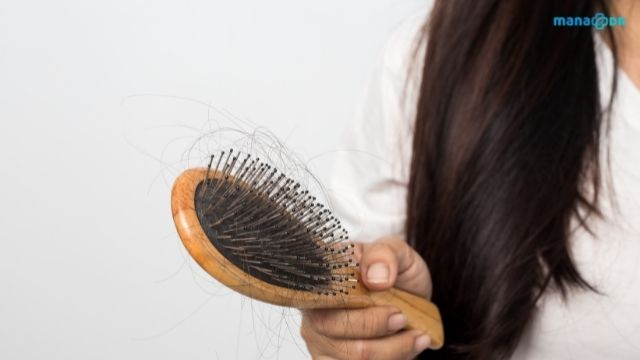 Hair loss because of oily scalp